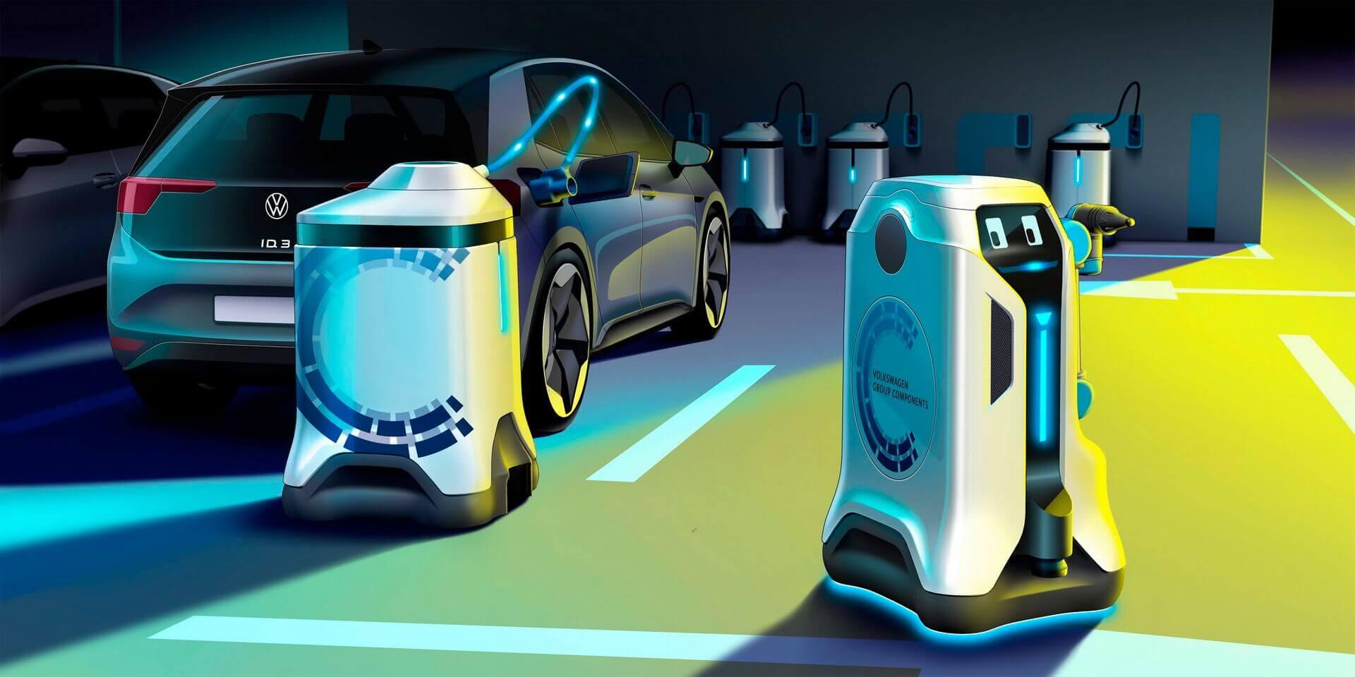 Мобильный робот Volkswagen